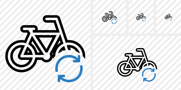 Bicycle Refresh Icon