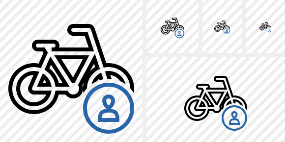 Bicycle User Icon