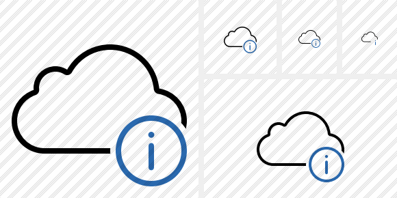 Cloud Information Icon