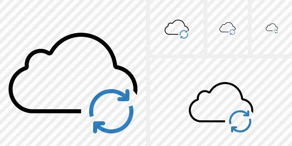 Cloud Refresh Icon