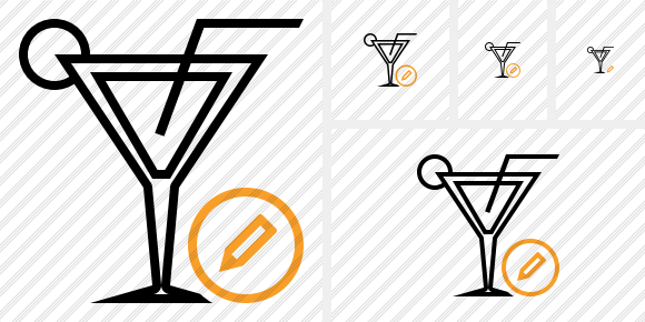 Cocktail Edit Icon