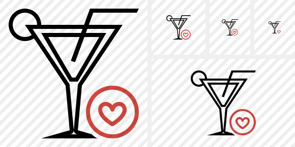 Cocktail Favorites Icon