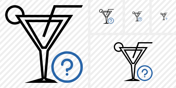 Cocktail Help Icon