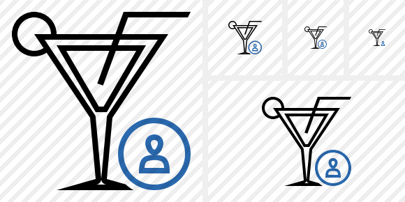 Cocktail User Icon