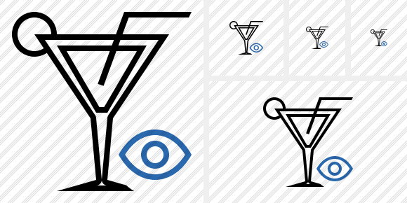 Cocktail View Icon