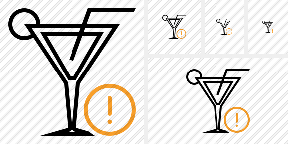 Cocktail Warning Icon