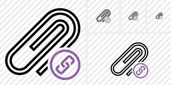 Paperclip Link Icon