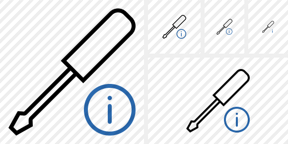 Screwdriver Information Icon