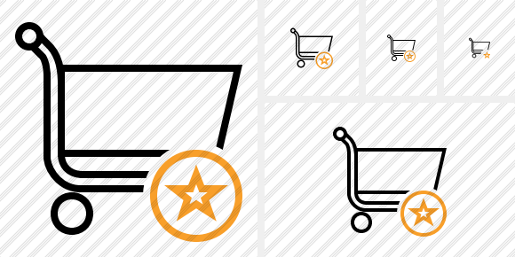 Shopping Star Icon