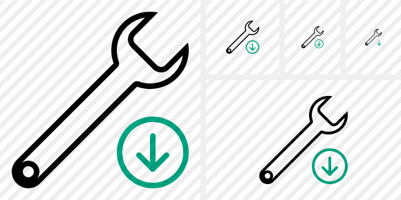 Spanner Download Icon