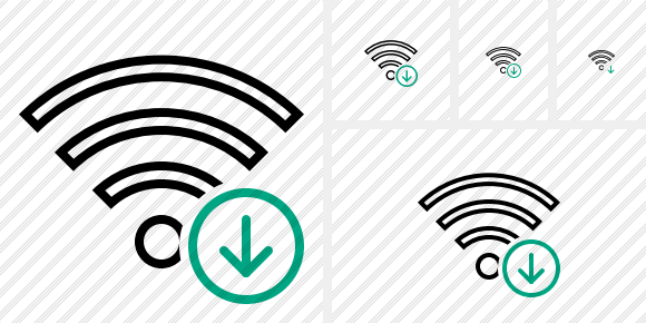 Wi Fi Download Icon