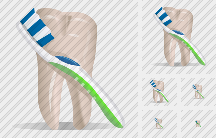 Tooth Toothbrush Icon