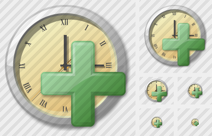 Clock Add Icon