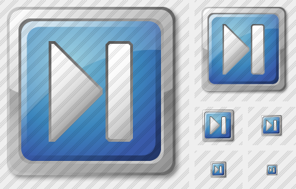 Media Next Blue Icon