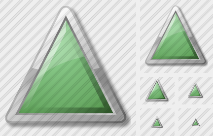 Triangle Green Icon