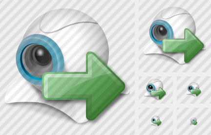 Webcamera Export Icon