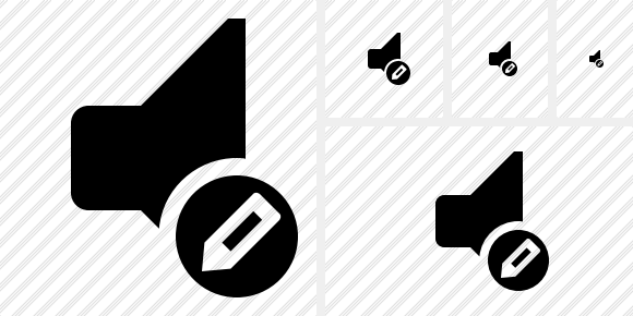 Audio Edit Icon