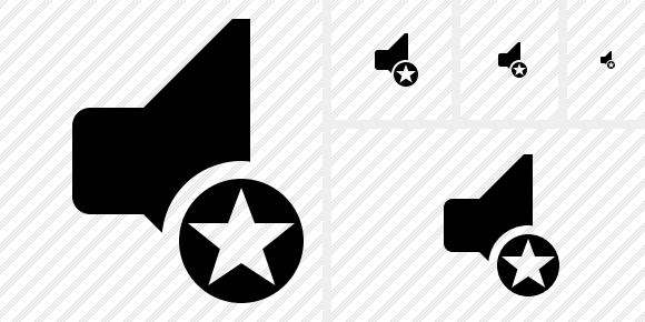 Audio Star Icon