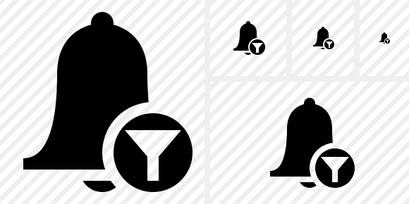 Bell Filter Icon
