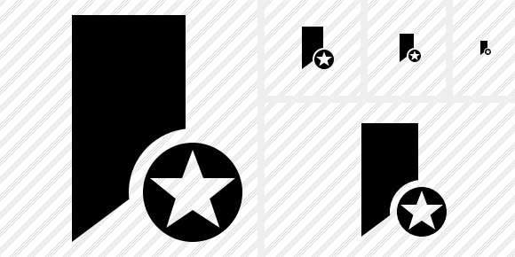 Bookmark Star Icon