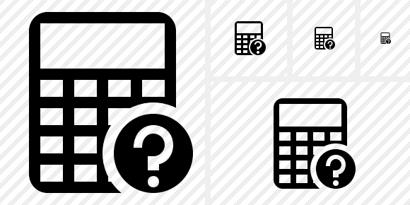 Calculator Help Icon