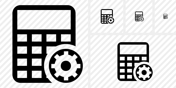 Calculator Settings Icon