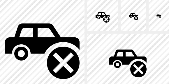 Car Cancel Icon