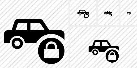 Car Lock Icon