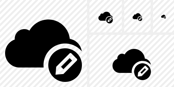 Cloud Edit Icon
