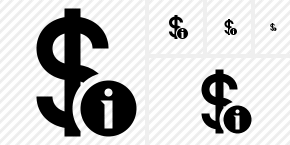 Dollar Information Icon