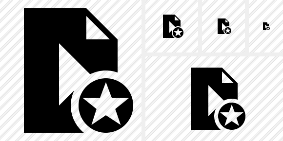 File Movie Star Icon