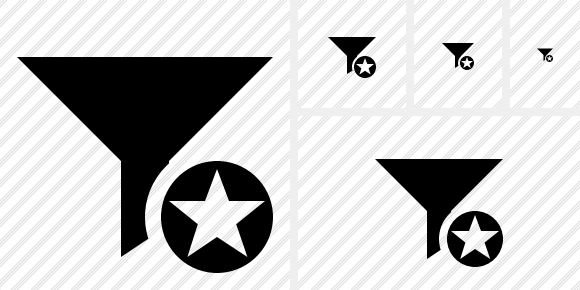 Filter Star Icon