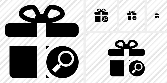 Gift Search Icon