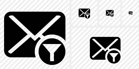 Mail Filter Icon