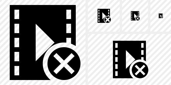 Movie Cancel Icon