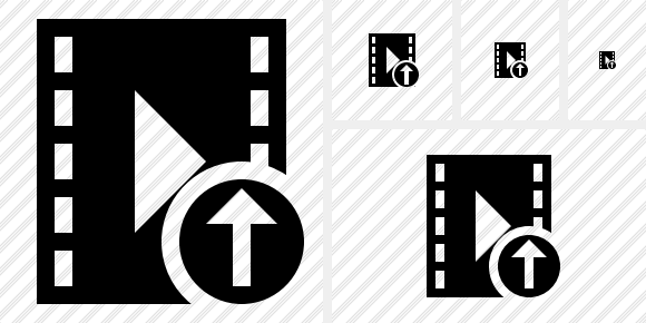 Movie Upload Icon