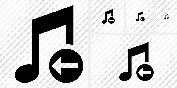 Music Previous Icon