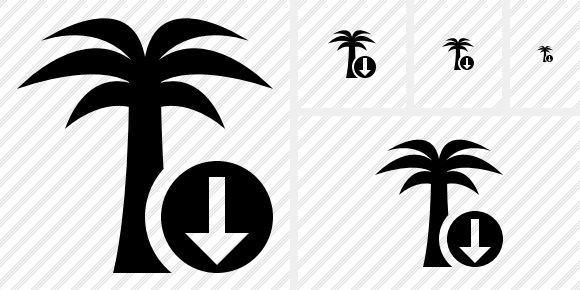 Palmtree Download Icon