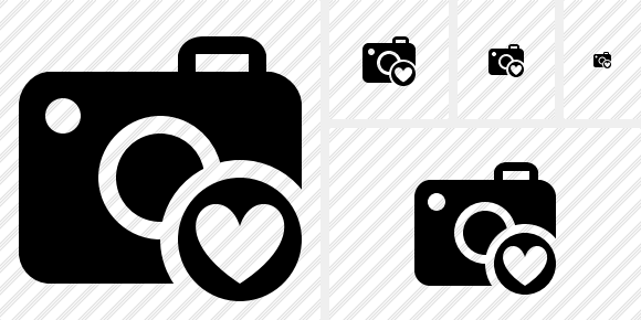 Photocamera Favorites Icon