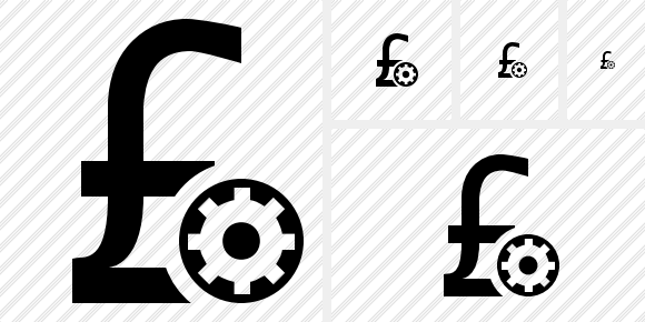 Pound Settings Icon