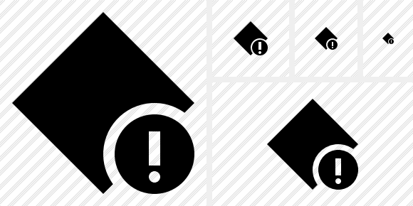 Rhombus Warning Icon