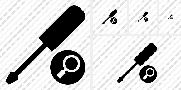 Screwdriver Search Icon