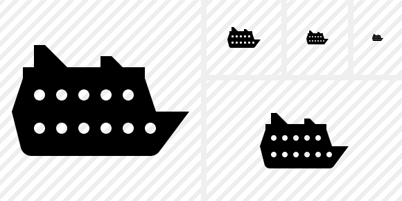Ship Icon Symbol Black Professional Stock Icon And Free Sets