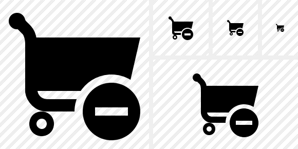 Shopping Stop Icon