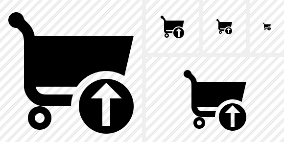 Shopping Upload Icon