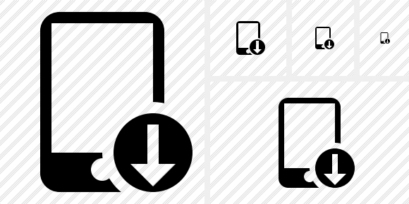 Smartphone Download Icon