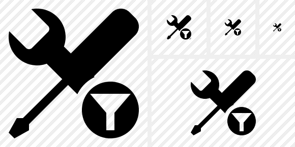 Tools Filter Icon