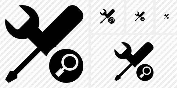 Tools Search Icon