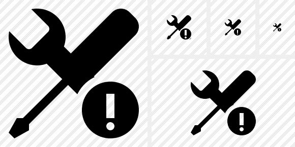 Tools Warning Icon