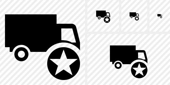 Transport Star Icon